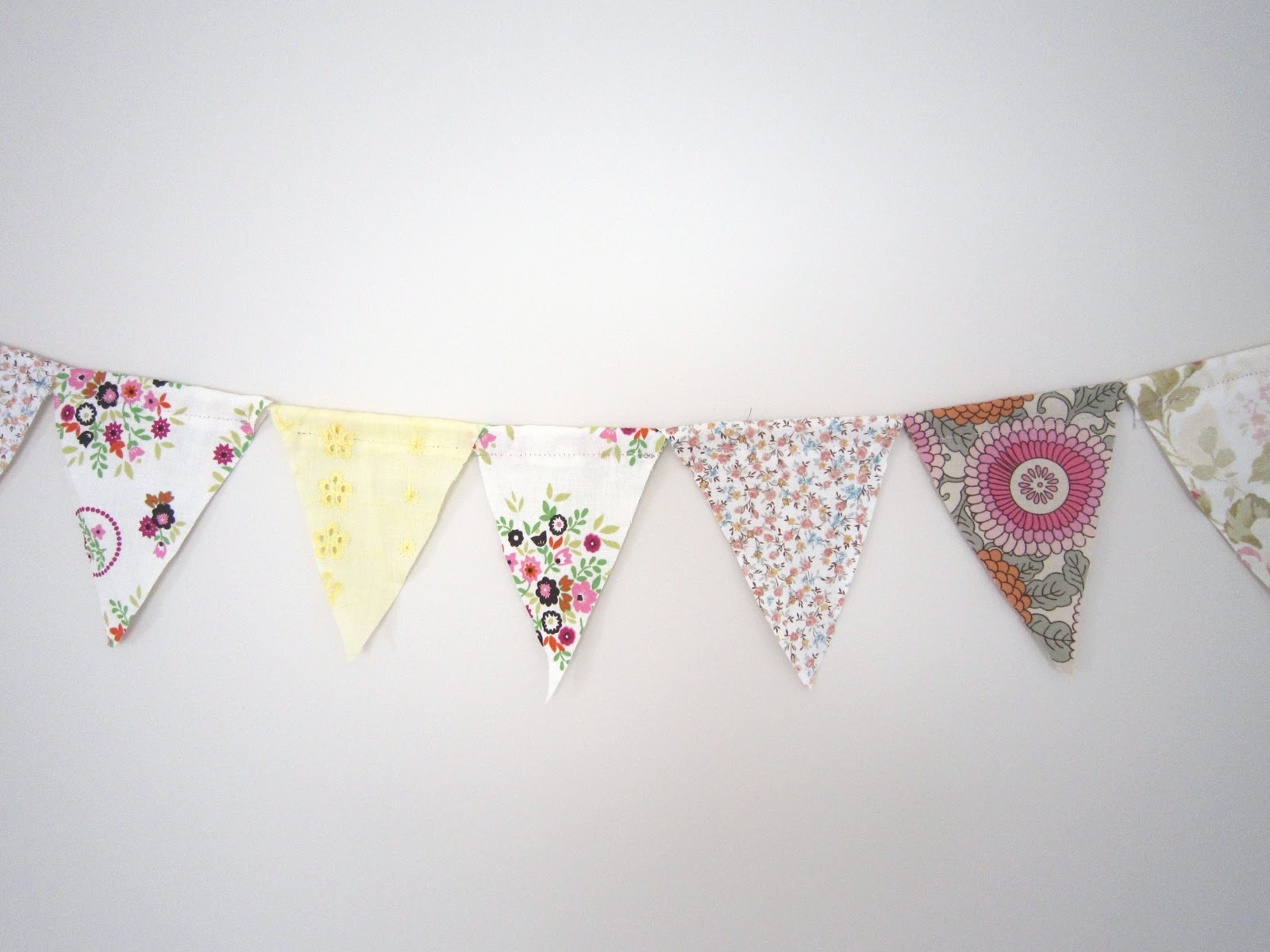 shabby chic bunting - photo #3