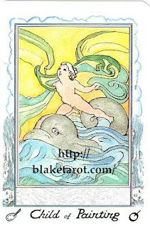 Tarot Thrones | William Blake Tarot - Ed Buryn