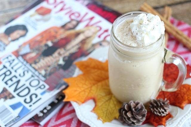 Pumpkin Spice Frappuccino Recipe