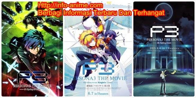 [ Info-Anime ] The Movie Persona 3 Falling Down Akan Tayang Di Jepang Pada Tanggal 4 April