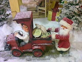 Post an den Weihnachtsmann schicken