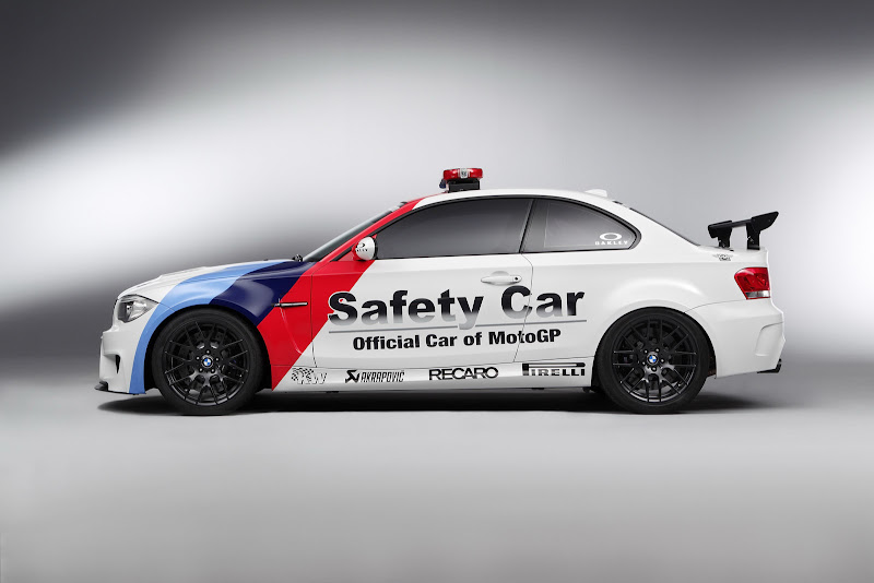 Officiall Safety Car of MotoGp BMW 1-Series M Coupe