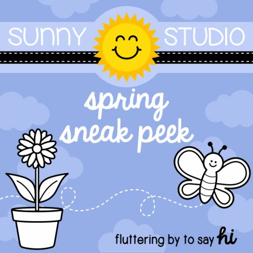 Sunny Studio Stamps Spring Release Sneak Peek of Backyard Bugs Stamp Set