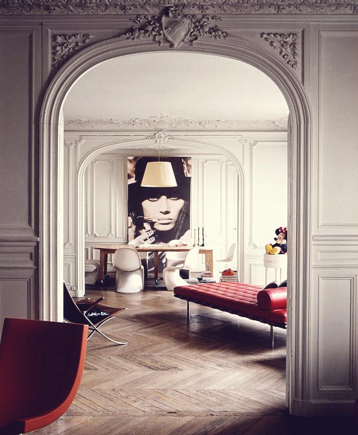 Interior Design | Paris Apartment | Dust Jacket | Bloglovin\'