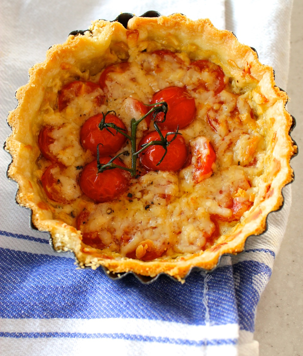 My third tart in a row and this one is savory for a change – it's ...