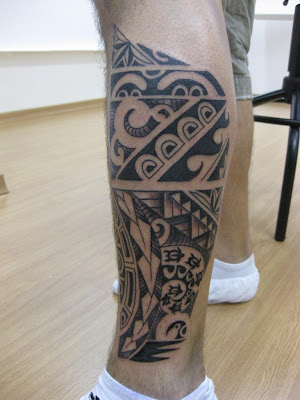 Moari Tatto on Tatto Maori Na Perna
