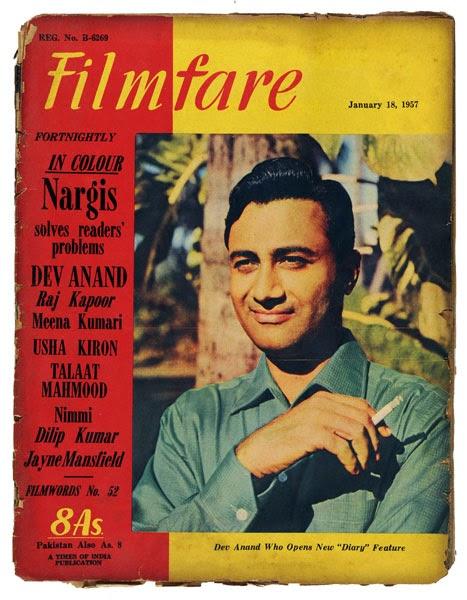 1950s Filmfare Covers.