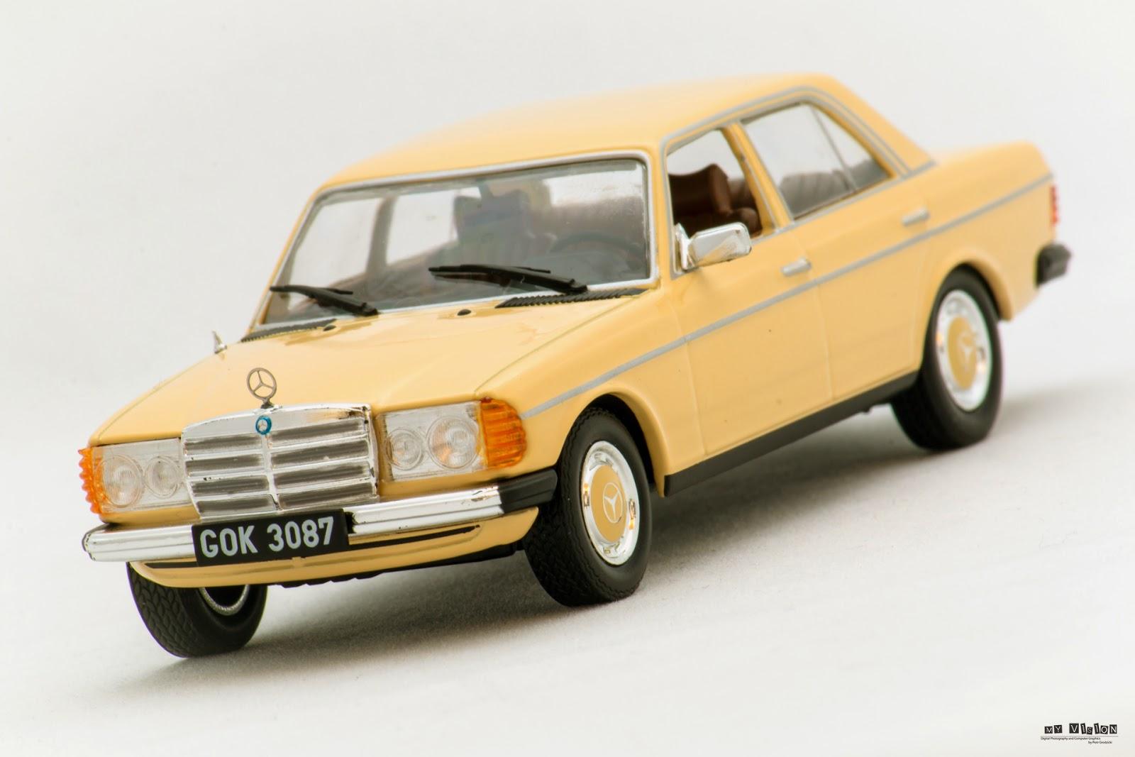 Miniautohobby mercedes benz w123 300d for Mercedes benz w123
