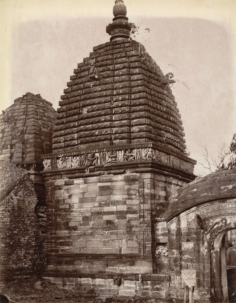A Small Temple at Kalyanesvari (Kalyaneshwari) Burdwan district, Bengal - 1872