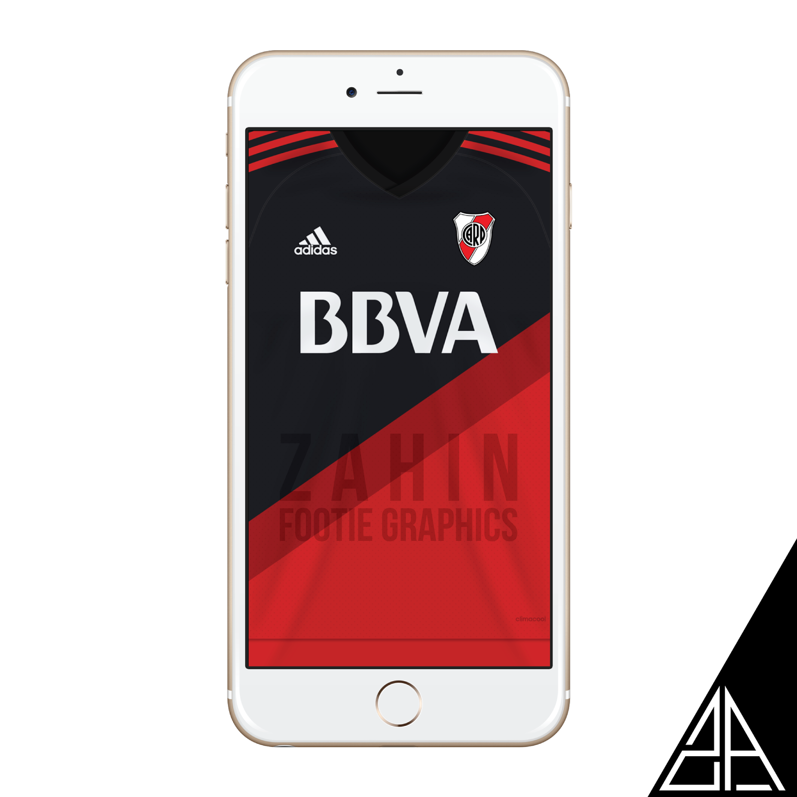 River Plate 2015 16 Zahin Footie Graphics