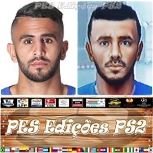 Riyad Mahrez (Leicester City) e Argélia PES PS2