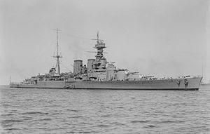 WW2 Battle of Atlantic HMS HOOD