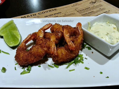 Yellow Easy Foods: Coconut Shrimp com Aioli de Limão Caramelizado