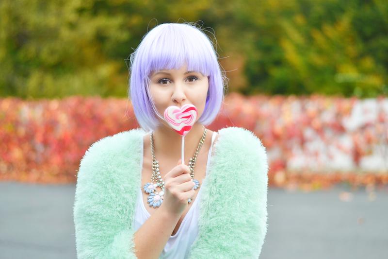 Halloween_Verkleidung_Kostüm_Make_Up_süß_candy_girl_last_minute_günstig