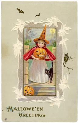 tarjeta felicitación halloween