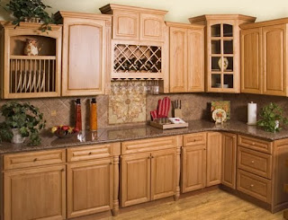 Modern house solid wood kitchen cabinet for Solid wood modern kitchen cabinets