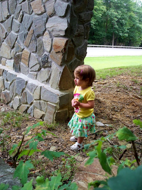 chilly august day fifteen month old