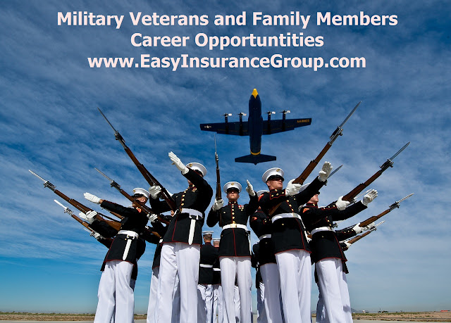 Transitioning Military Veteran and Family Member Financial Services Careers - EasyInsuranceGroup.com