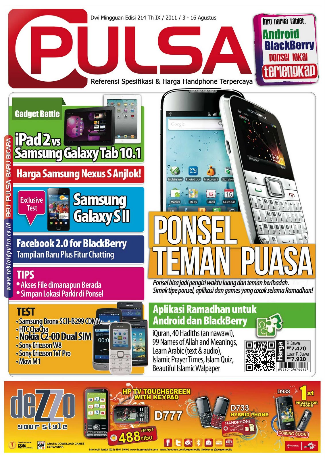Download Epaper Tabloid Pulsa Edisi 214 Gratis