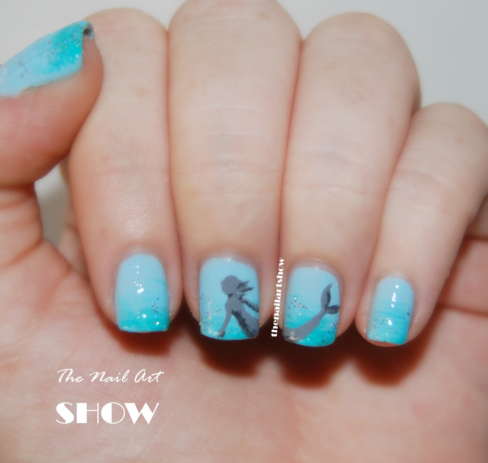 The Nail Art Show: June Nail Art Challenge – Day 13: Sea Critters ...