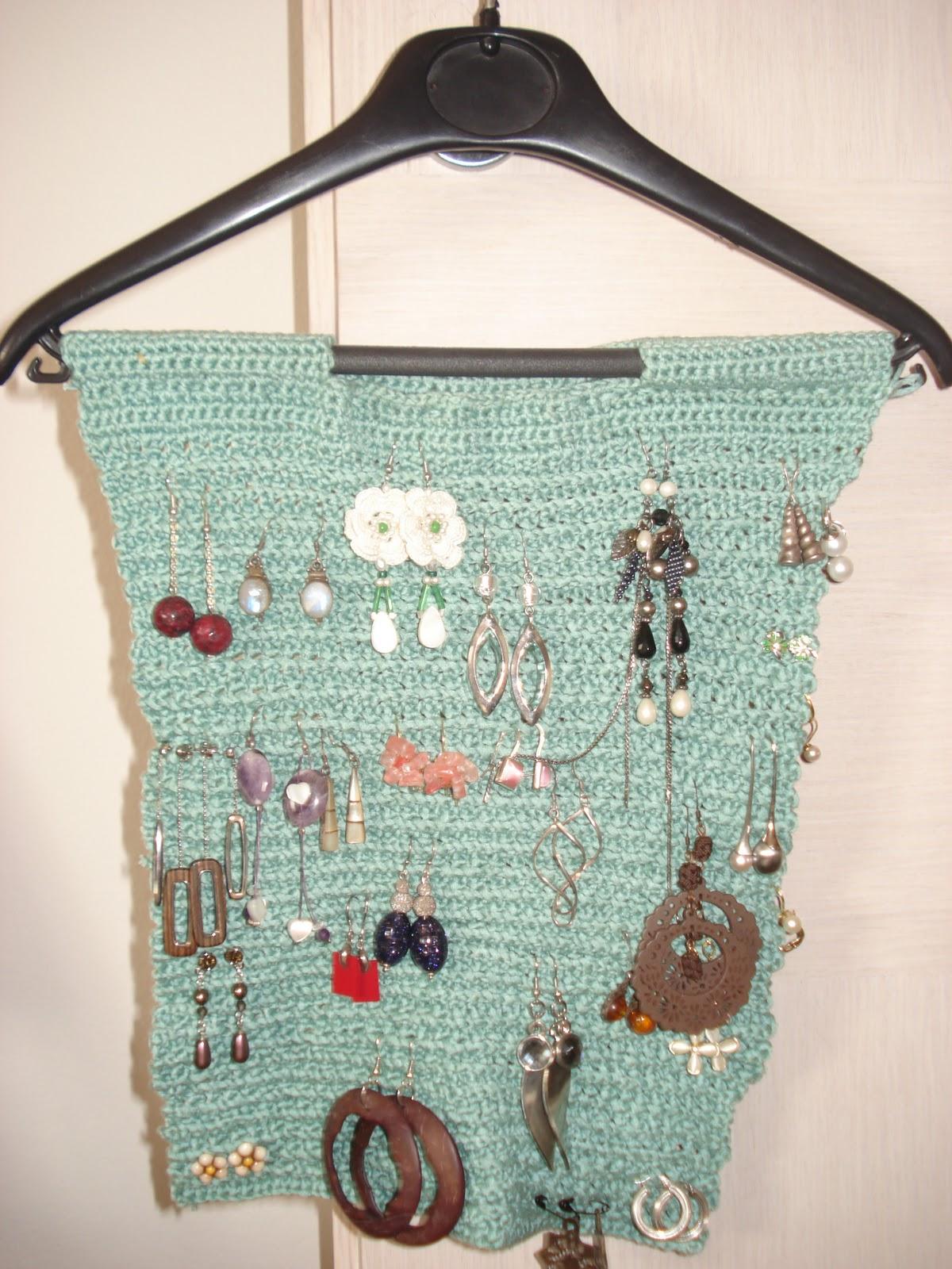 Porta orecchini tutte le offerte cascare a fagiolo - Porta gioielli fai da te ...