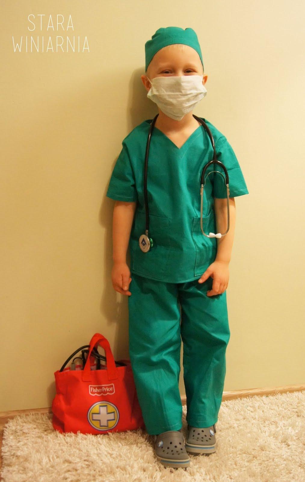 Strój doktora / lekarza