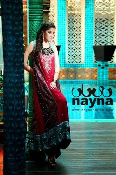 Nayna Formal and Bridal Outfit Collection 2014-2015