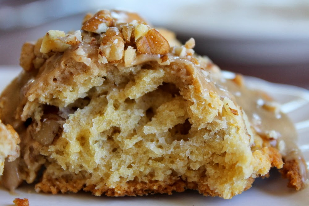 Jennifer Murch: maple pecan scones