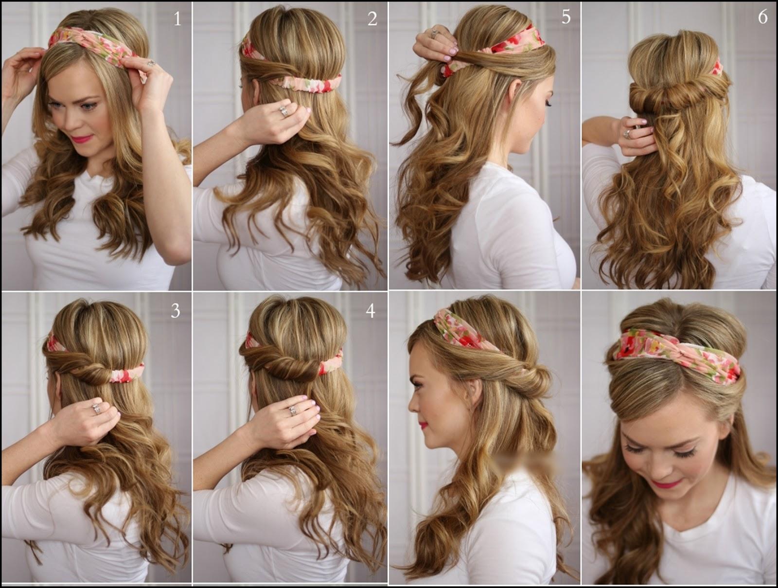 Как сделать причёску за 3 минуты