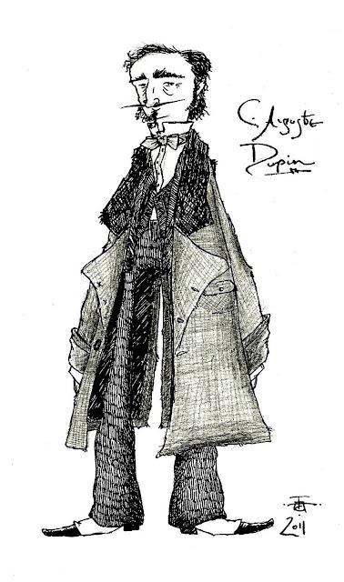 Edgar Allan Poe C.+Auguste+Dupin
