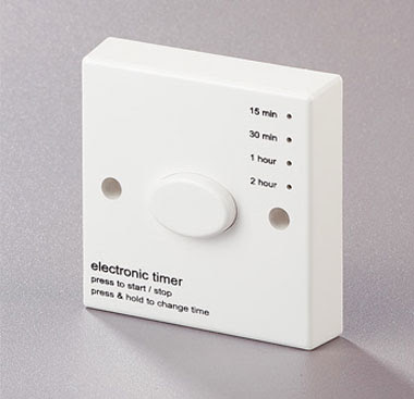 The energy saving RBT2 Timer - Adjustable Boost Timer Delay Switch, Multi-range Run-Back Timer