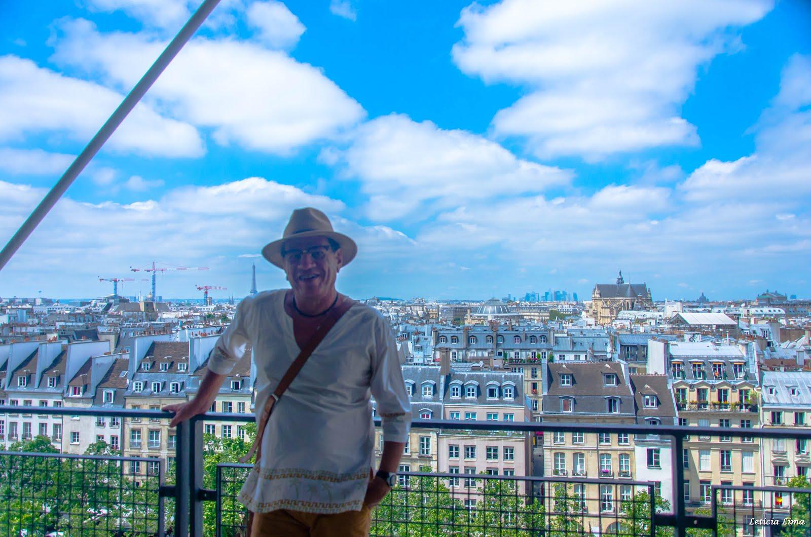 MUSEU DE ARTE MODERNA POMPIDOU - PARIS
