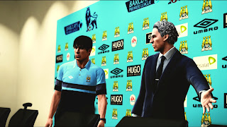 Download Manchester City Press Conference PES 2013