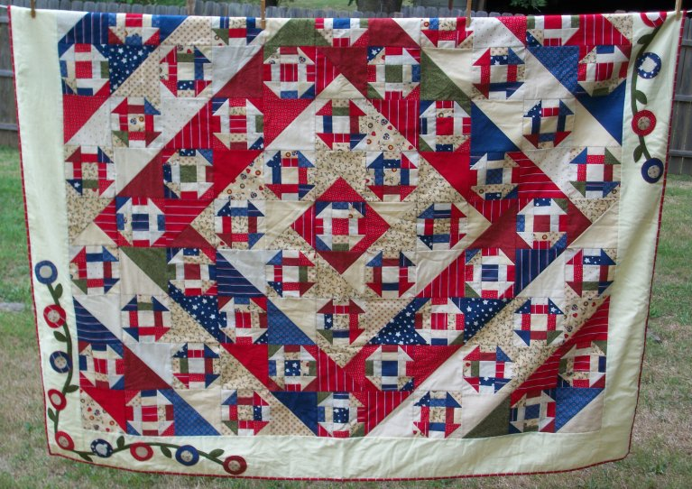 Country Scrap Quilts Hole In The Barn Door Quilt