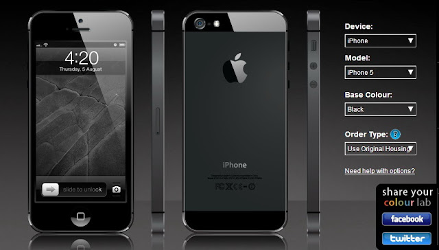 Add Colors To iPhone5 Before Apple