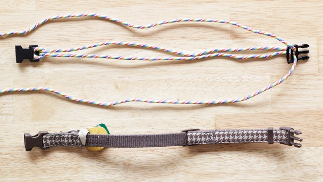How-to Rainbow Paracord Dog Collar