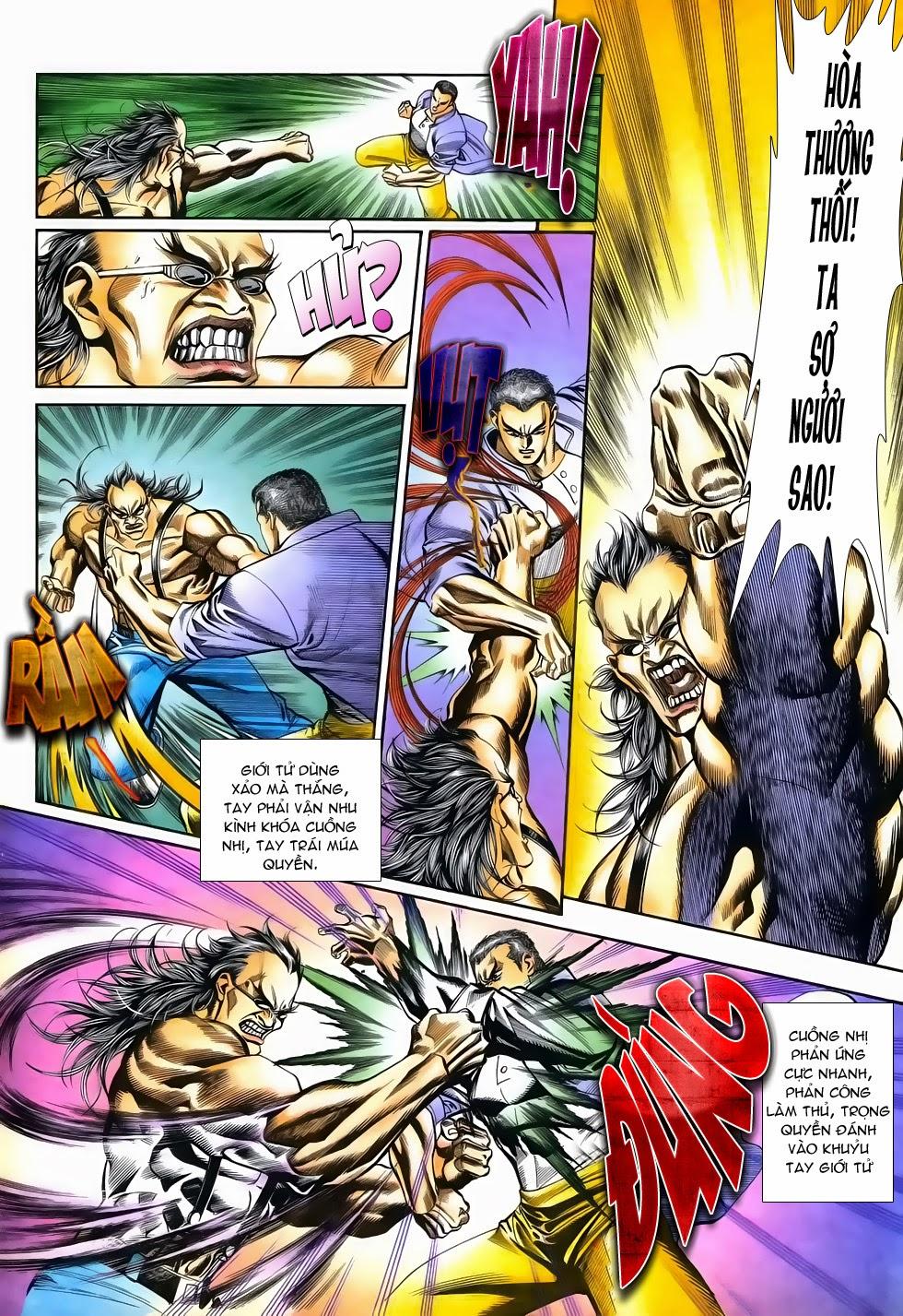 Long Hổ Phong Bạo chap 3 - Trang 23