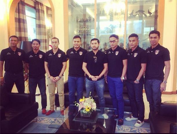 Mahkota Johor dan majlis sambutan pemain Malaysia ke pasukan Johor