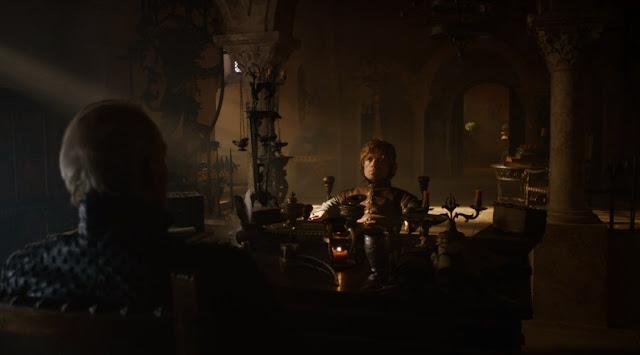 Tyrion y Tywin tercera temporada - Juego de Tronos en los siete reinos
