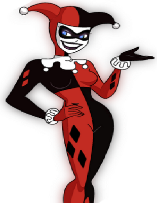 how to draw harley quinn full body