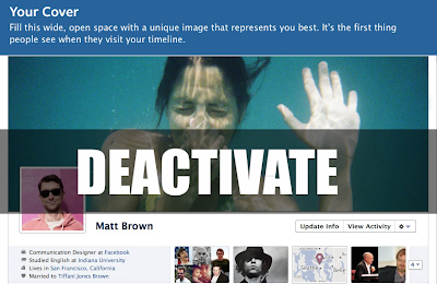 Disable / Deactivate Facebook Timeline