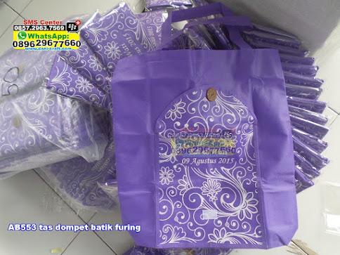 tas dompet batik furing murah