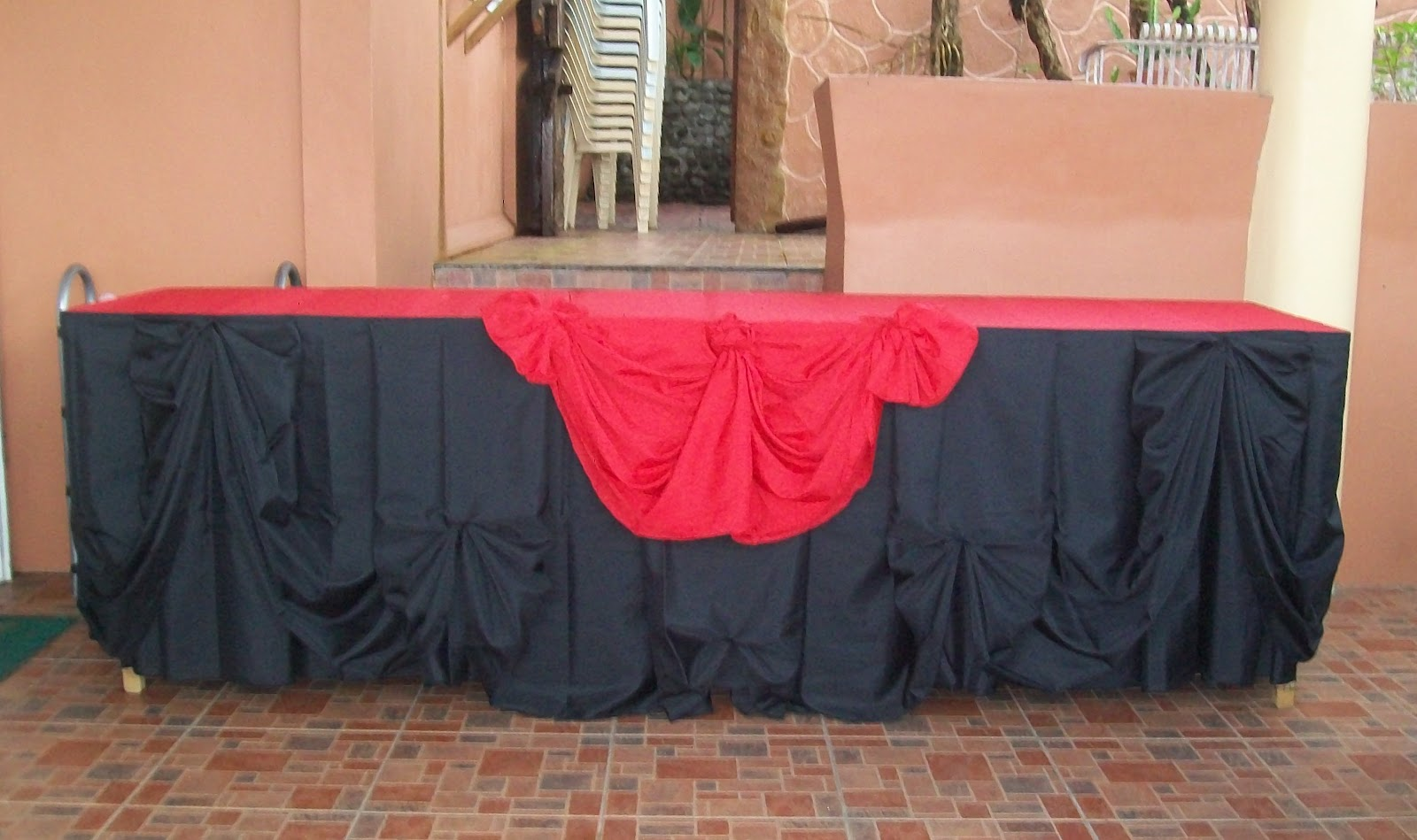 Skirting for your buffet table van and louise catering skirting for your buffet table watchthetrailerfo