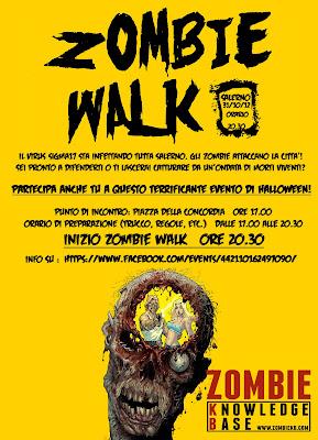 Zombie Walk Salerno: 31 Ottobre 2012