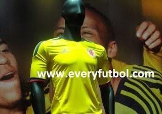 Precios de la nueva camiseta de la Selección Colombia