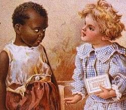 Sabão Fairy com propaganda de forte cunho racista.