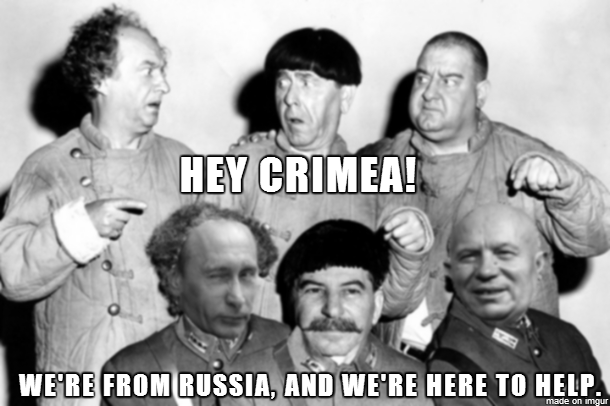 The Soviet Stooges  - Joseph, Nikita and Vladimir
