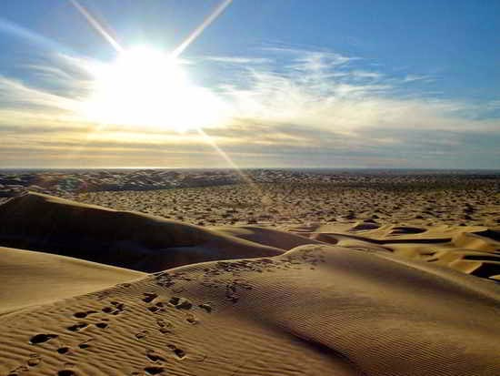 Desierto en los sueños
