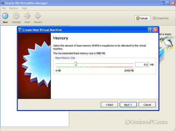 Using VirtualBox To Install an OS