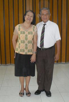 Rebecca and Gil in 2011